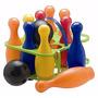 Duravit Juego De Bowling Bolos 10 Pinos + 2 Bolas Plástico