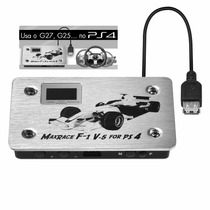 Maxrace F1 Converte V5 Use Volante G27 G25 Gt No Play4 Ps4 F