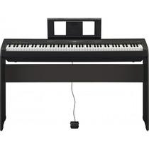 Piano Yamaha P45 + Estante L85 Na Loja Cheiro De Musica !!