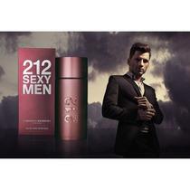 Perfume 212 Sexy Men Carolina Herrera 100ml Original Lacrado