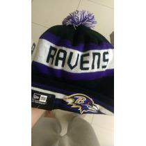 Gorro De Lana Beanie Nfl Ravens New Nueva Era Nueva