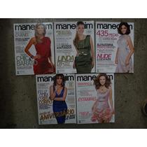 Lote Com 5 Revistas Manequim Antigas - Com Moldes - Usadas