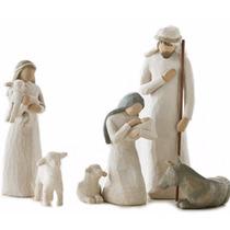 Figuras Nacimiento Niño Dios Navidad 6 Piezas Tamaño 24 Cm