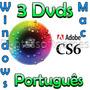 Adbe Cs6 Win Ou Mac Link-ou-dvds Completo Com Garantia
