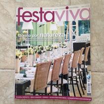 Revista Festa Viva Ano 1 N4 Bonito Por Natureza Bem-casados
