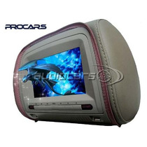 Apoyacabezas Tv Digital Dvd Juegos 7 Lcd Procars Pchd705tvd