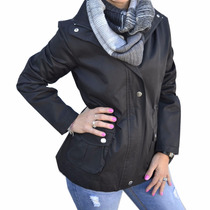 Piloto Impermeable Rompeviento Mujer The Big Shop