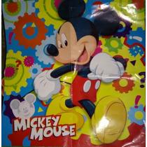 Combo Fiesta Mickey Mouse Decoracion,platos,vasos,mantel Mas