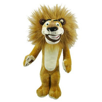 Boneco De Pelúcia Madagascar Leão Alex! Em Estoque ! Lindo
