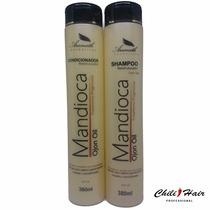 Shampoo Mandioca Aramath + Cond. Manutenção Pós Progressiva