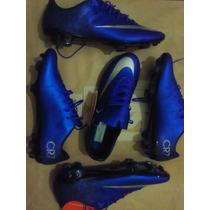 Chuteira Nike Mercurial Vapor X Fg Cr7