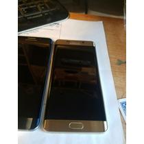 Samsung S6 Edge Plus Liberado Dorado Y Negro Zafiro