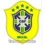 Patch Bordado Copa 2014 Seleção Brasil Cbf Am 10cm Sel22