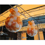 Piñata Burbuja Cristal Con 20 Globitos Englobando Tus Dijes