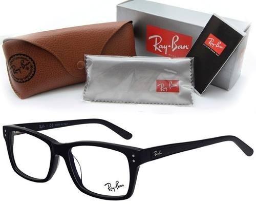 Armação P  Óculos De Grau Ray Ban Unissex Feminino Masculino - R  129,90 em  Mercado Livre cd207a22c3