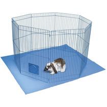 Jaula Corral Área De Descanso Mascotas Conejos Animales Vv4
