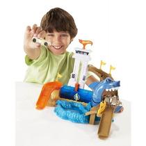Pista Hot Wheels Color Change Ataque Do Tubarão - Mattel
