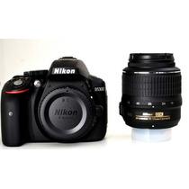 Câmera Nikon D5300 +lente 18-55 +32gb +bolsa +nf +gar. 1 Ano
