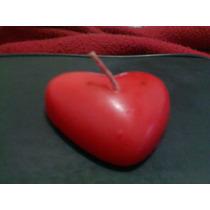 Velas De Corazón Recuerdos Bodas,14 De Febrero,15 Años