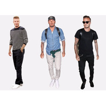Pantalones Modelo Slim Fit Tubito David Beckham Moda 2016