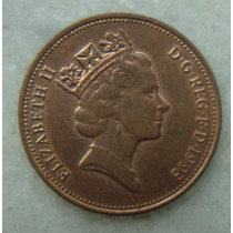 2181 Inglaterra 1993 Two Pence Elizabeth I I 26mm - Bronze