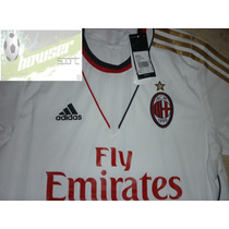 Jersey Adidas Milan Italia Calcio 13-14 Visita 100% Original