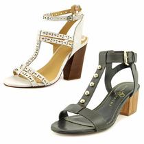 Zapatos Cuero T/6 Y 6 1/2 Ivanka Trump - Joe