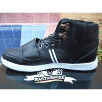 Botines Rasta Shoes Reto-001 Negro Originales Zapatos