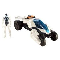 Max Steel Vehículo & Figura Transformando Duna Jet [2 En 1