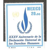 Mexico 1983 35 Aniv Derechos Humanos