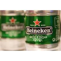 Barril De Cerveza Heineken 5 Lts Importada Holanda