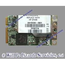 Tarjeta De Red Wifi Para Compaq 6515 6710 C700 V6400