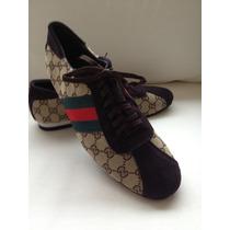 Tenis Sapato Sapatenis Gucci - Importado - Pronta Entrega