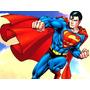 Painel De Aniversario Superman 39,99(tecido Oxford)