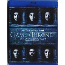 Game Of Thrones Juego De Tronos Temporada 6 Seis Blu-ray