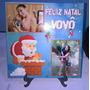 Azulejo Personalizado C/ Foto Feliz Natal Presente Vovô Vovó