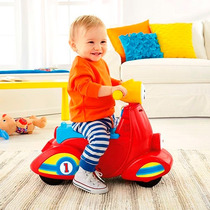 Moto Aprende Conmigo Fisher Price Montable Bebe Musical Niño
