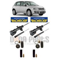 04 Amortecedores Originais Monroe + Kit´s Fiat Stilo 8v 16v