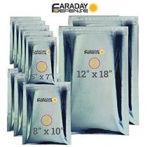 7.0mil 10pc Emp / Esd Premium Heavy Duty Jaula De Faraday Bo