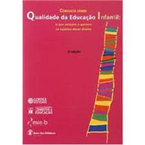 Livro Consulta Sobre Qualidade Da Educação Infantil Nd
