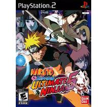 Naruto Ultimat Hero5 + Naruto Ninja3 Patch Ps2,promoção!!!