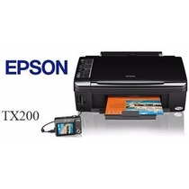 Multifuncional Epson Tx200 Impressora Copiadora Scanner