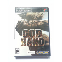 God Hand Jogo Original Ps2 Lacrado! Novo God Hand Ps2