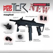 Tippmann Tcr Magfed Marcadora Gotcha Paintball Pistola Rifle