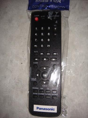 Control Remoto Para Minicomponente Panasonic Sc