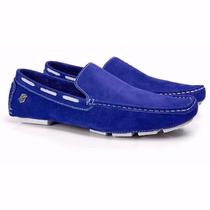 Sapatilha Masculina Drive Mocassim Alcalay L42070 King Shoes