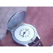 Relógio Braille Suíço Original À Corda Antigo Coleção Antigo