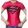 Polera Super Man 100% Poliéster Diseño Under Amour Mujer