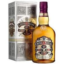 Whisky Chivas Regal 12 Años 1000 Ml En Estcuhe