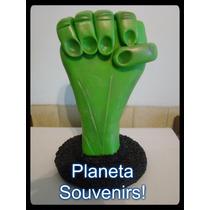Adorno De Torta Hulk!puño!!los Vengadores En Porcelana Fria!
